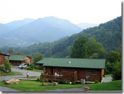 Altitude Adjustment Cabin, Maggie Valley NC - Click to visit the site.