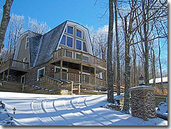 Heavenly Hideaaway vacation rental home at Beach Mountain North C - Click to visit the site.
