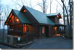 Tranquility Point cottage Gatlinburg, TN - Click to visit