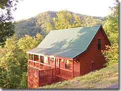 Whispering Maple cottage - Pigeon Forge, TN - Click to visit