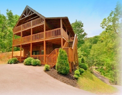 Honey Bear Ridge 3BR, 3 Baths, Gatlinburg, T N Sleeps 12 - Click to visit