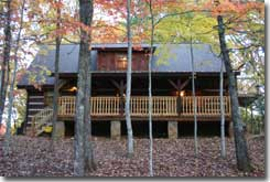 Serenity Ridge Luxury Log Cabin vacation rental Gatlinburg